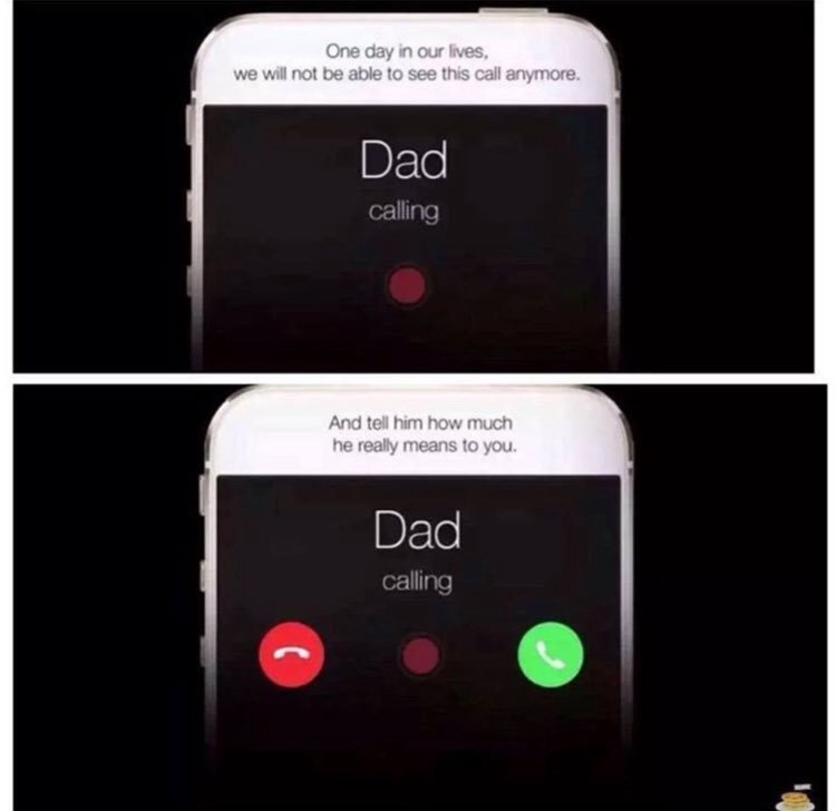 father misses phone call - 500×704