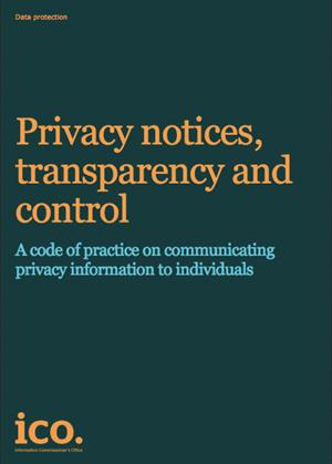 ICO Privacy notice code (4)